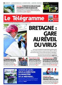 Le Télégramme Brest Abers Iroise – 16 juillet 2020
