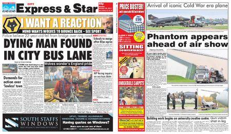 Express and Star City Edition – October 30, 2017