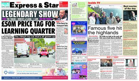 Express and Star City Edition – September 15, 2017
