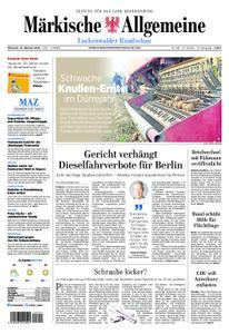 Märkische Allgemeine Luckenwalder Rundschau - 10. Oktober 2018