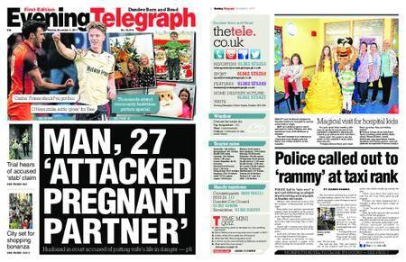 Evening Telegraph First Edition – December 04, 2017