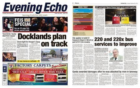 Evening Echo – February 20, 2018