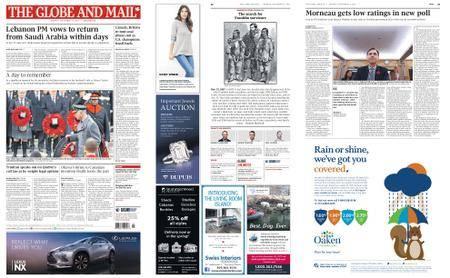 The Globe and Mail – November 13, 2017