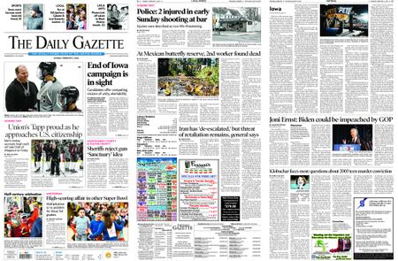 The Daily Gazette – February 03, 2020