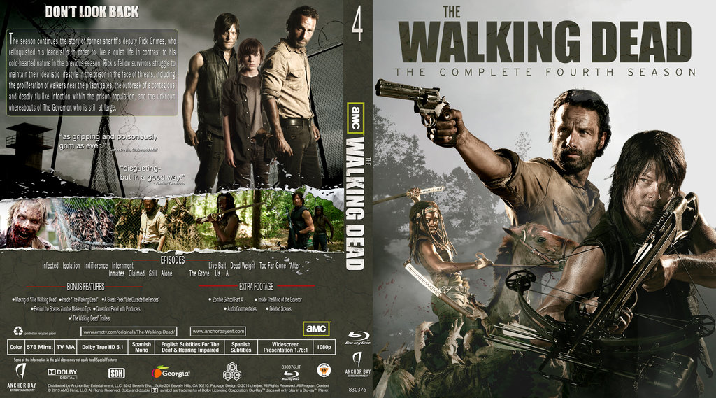 The Walking Dead - Complete Season 4 (2013) / AvaxHome
