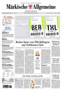 Märkische Allgemeine Prignitz Kurier - 19. September 2017