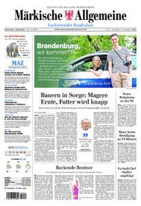 Märkische Allgemeine Luckenwalder Rundschau - 01. August 2019