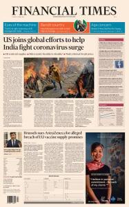 Financial Times Asia - April 27, 2021