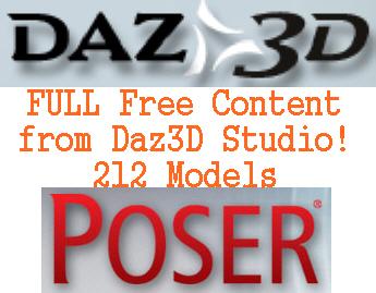 Full Free Content from DAZ3D Studio / AvaxHome