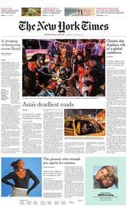 International New York Times - 26 August 2019