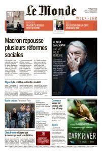 Le Monde du Samedi 7 Juillet 2018