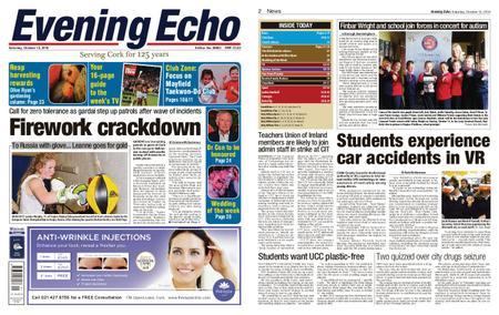 Evening Echo – October 13, 2018