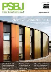 PSBJ. Public Sector Building Journal - September 2017
