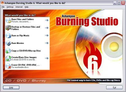 Ashampoo Burning Studio ver. 6.10