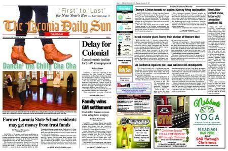 The Laconia Daily Sun – December 28, 2017