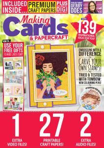 Making Cards & Papercraft - July 2019