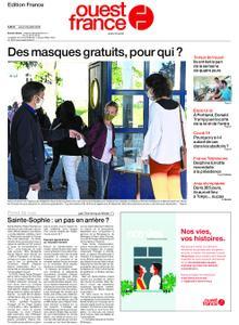 Ouest-France Édition France – 23 juillet 2020
