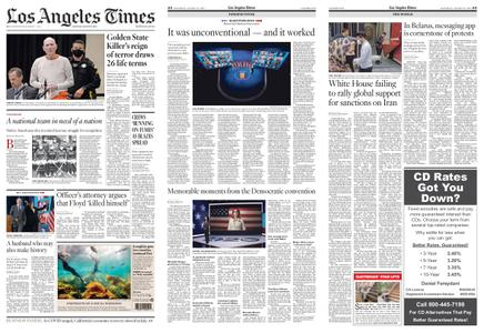 Los Angeles Times – August 22, 2020