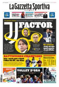 La Gazzetta dello Sport Roma – 19 maggio 2019