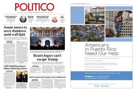 Politico – December 20, 2018
