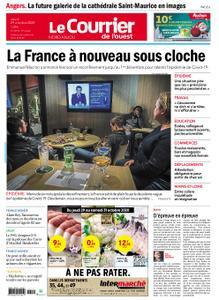 Le Courrier de l'Ouest Nord Anjou – 29 octobre 2020