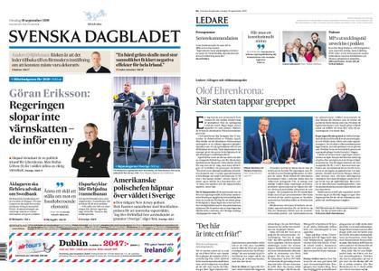 Svenska Dagbladet – 18 september 2019