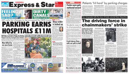 Express and Star Sandwell Edition – October 28, 2019