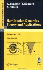 Jacques Henrard - Hamiltonian Dynamics - Theory and Applications (Lecture Notes in Mathematics) [Repost]