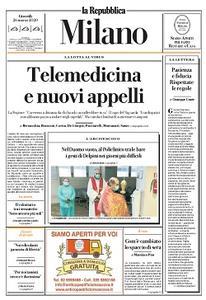 la Repubblica Milano - 26 Marzo 2020