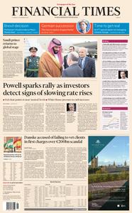 Financial Times Europe – 29 November 2018