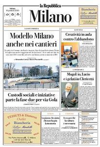 la Repubblica Milano - 18 Gennaio 2020