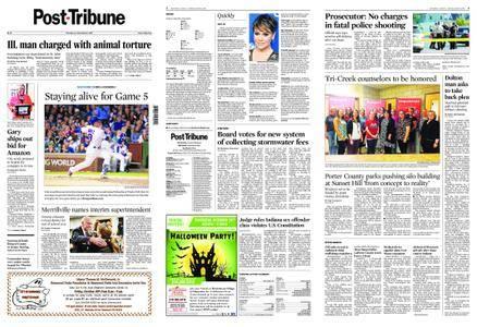 Post-Tribune – October 19, 2017