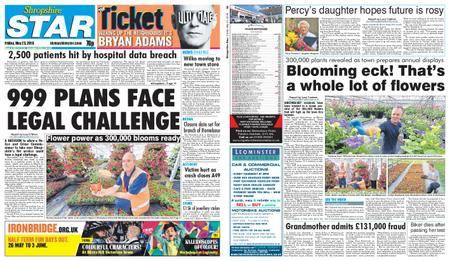 Shropshire Star Shrewsbury Edition – May 25, 2018
