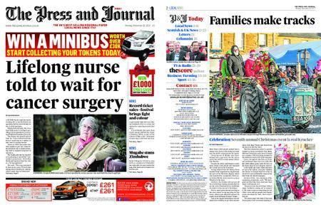 The Press and Journal Moray – November 20, 2017