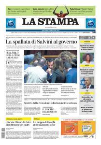 La Stampa Torino Provincia e Canavese - 8 Agosto 2019
