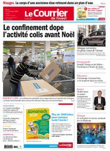 Le Courrier de l'Ouest Cholet – 03 novembre 2020
