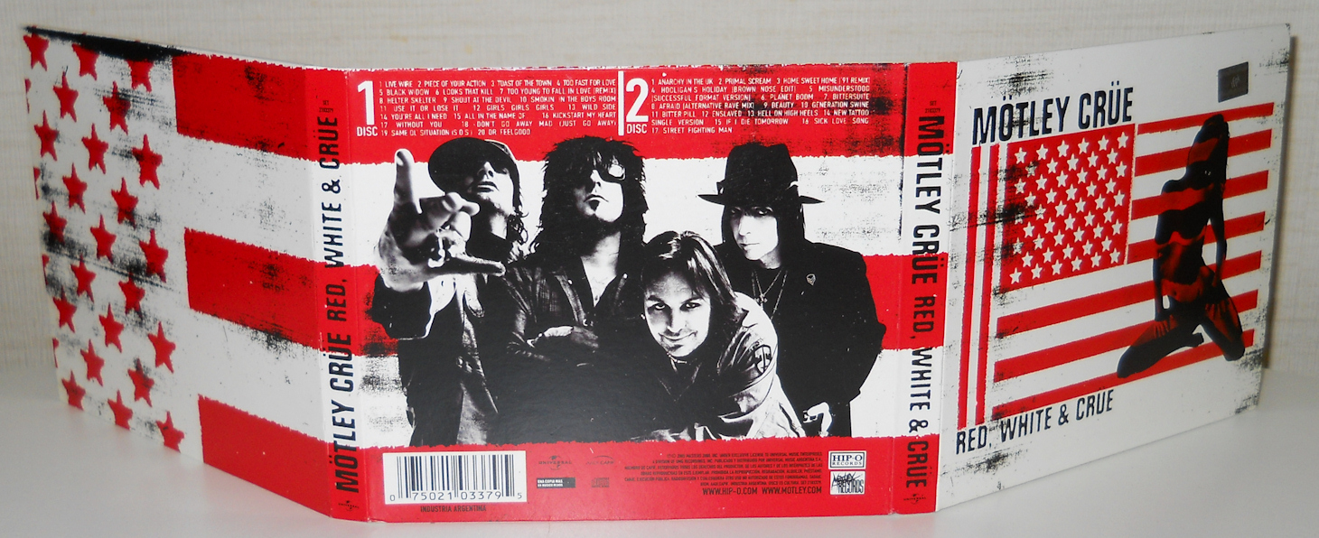 886d1a45d60a3 Mötley Crüe - Red, White and Crüe (Clean Version) / AvaxHome
