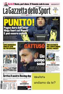 La Gazzetta dello Sport Roma – 24 dicembre 2018