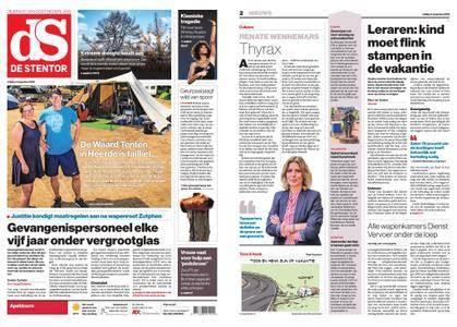 De Stentor - Apeldoorn – 03 augustus 2018
