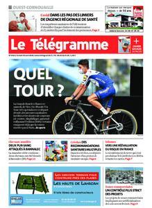 Le Télégramme Ouest Cornouaille – 29 août 2020
