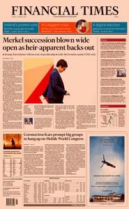 Financial Times Europe – 11 February 2020