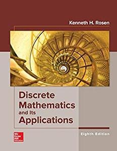 Discrete Mathematics and Its Applications, 8th Edition