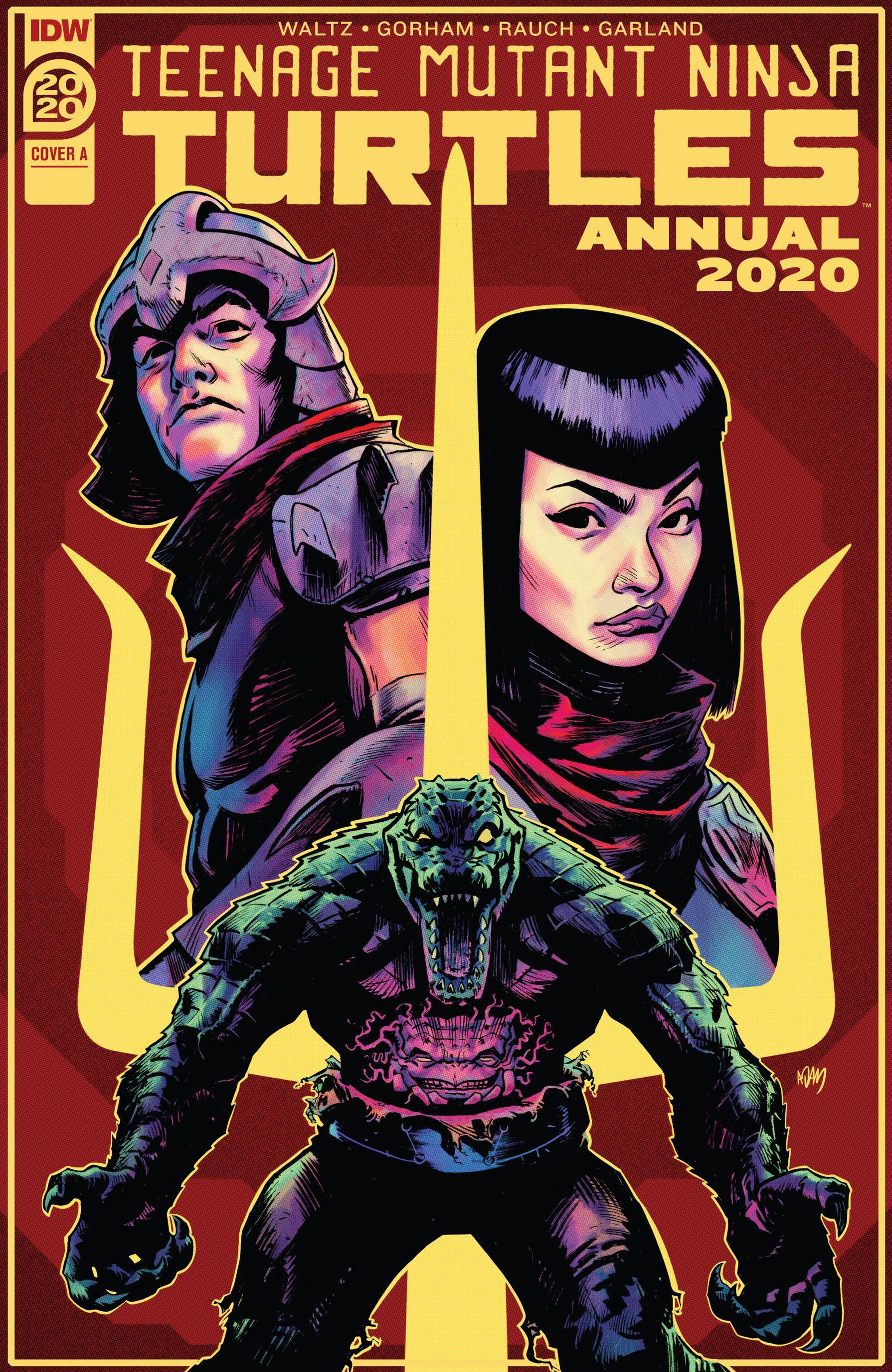 Teenage Mutant Ninja Turtles Annual 2020 2020 Digital BlackManta
