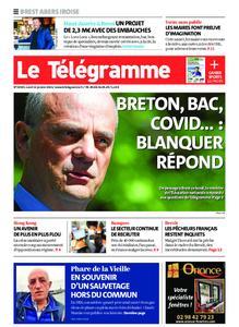 Le Télégramme Brest Abers Iroise – 11 janvier 2021