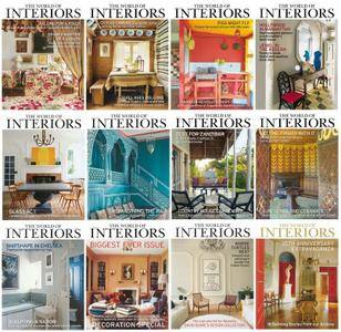 The World of Interiors - 2016 Full Year Issues Collection