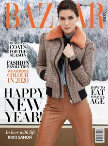 Harper's Bazaar India - January 2020
