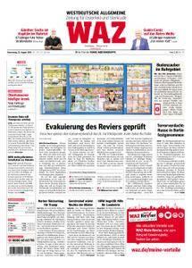 WAZ Westdeutsche Allgemeine Zeitung Oberhausen-Sterkrade - 23. August 2018