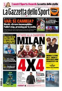 La Gazzetta dello Sport – 04 dicembre 2018