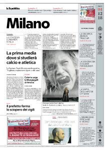 la Repubblica Milano - 4 Dicembre 2018