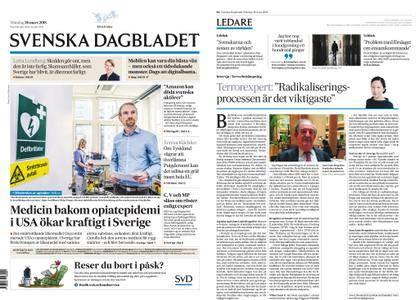 Svenska Dagbladet – 26 mars 2018